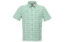 The North Face Men's S/S Gilgit Woven arden green